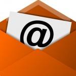 Email Symbol - Orange